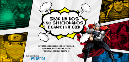 Campanha Geek Point
