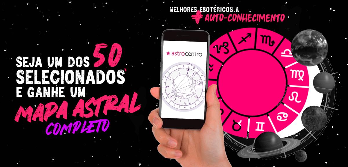 CAMPANHA - ASTROCENTRO 50 MAPAS ASTRAIS
