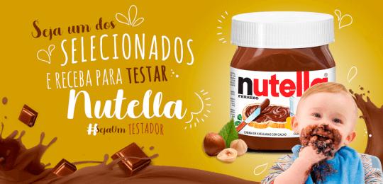 CAMPANHA - NUTELLA