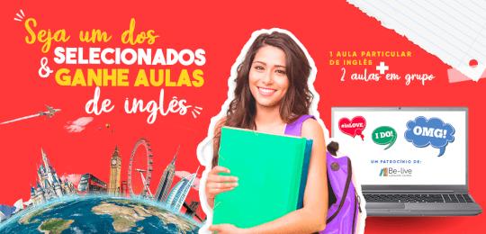 Campanha Be-live Language School - volta as aulas