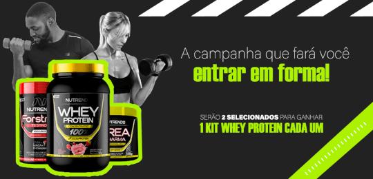 CAMPANHA Kit WHEY Protein!